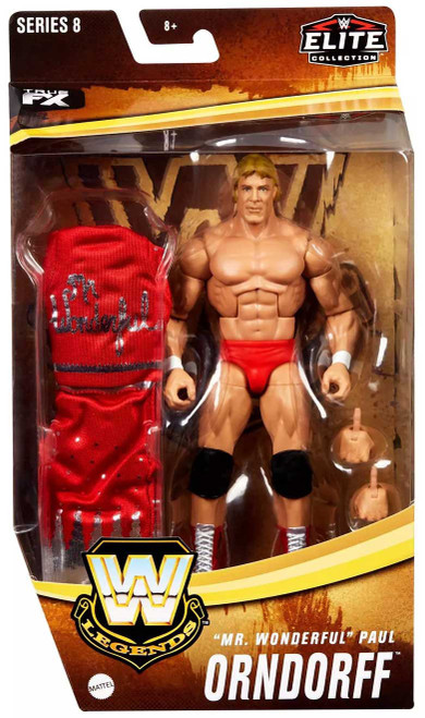 "WWE Wrestling Elite Collection Legends Series 8 ""Mr. Wonderful"" Paul Orndorff Exclusive Action Figure"