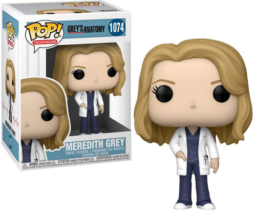 Funko Grey's Anatomy POP! TV Meredith Grey Vinyl Figure #1074 (Pre-Order ships March)