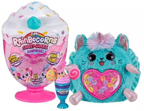 Rainbocorns Sweet-Shakes Surprise Surprise Mystery Plush [RANDOM Plush Character!]