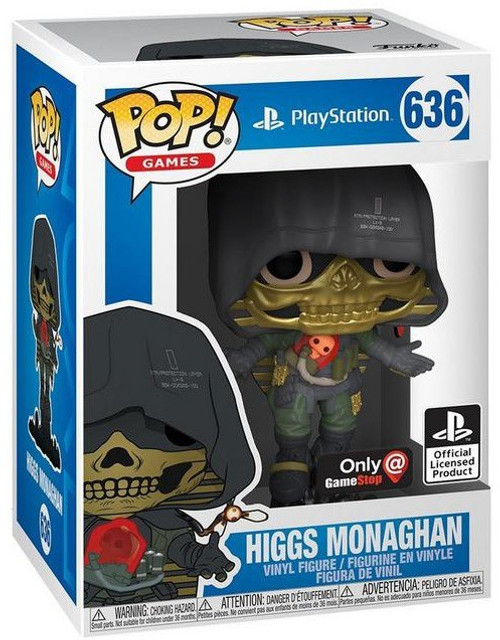 Funko Death Stranding POP! Games Higgs Monaghan Exclusive Vinyl Figure #636