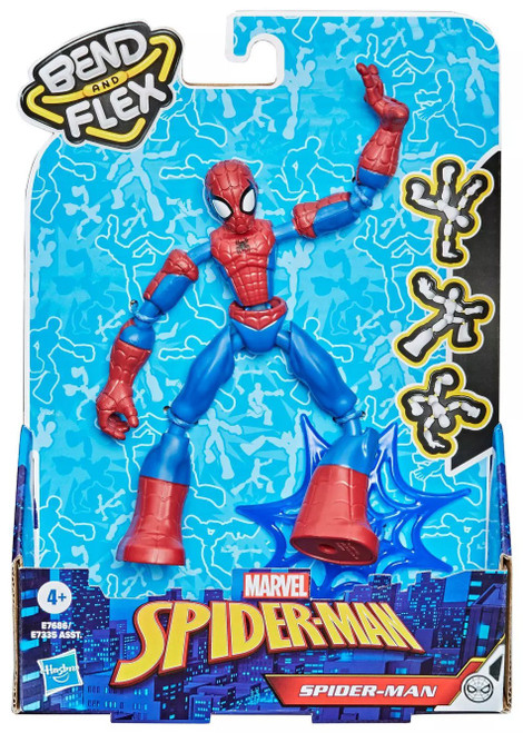 Marvel Bend & Flex Spider-Man Action Figure [2021]