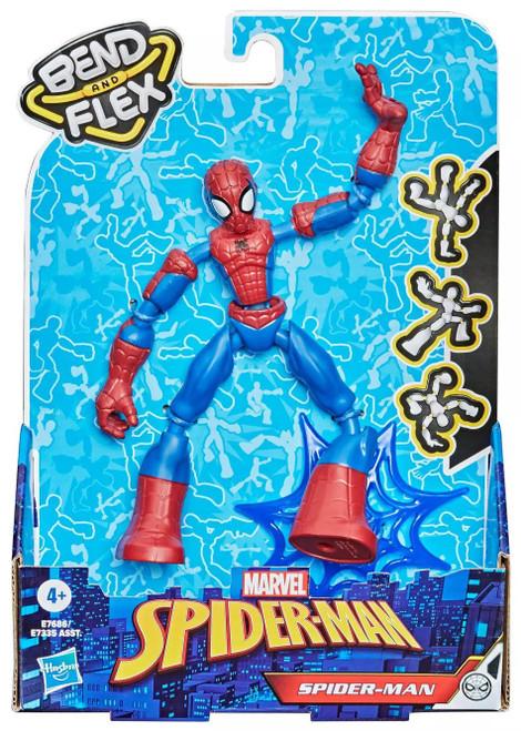 Marvel Bend & Flex Spider-Man Action Figure [2021] (Pre-Order ships January)