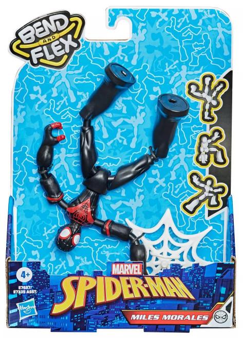 Marvel Spider-Man Bend & Flex Miles Morales Action Figure [2021]