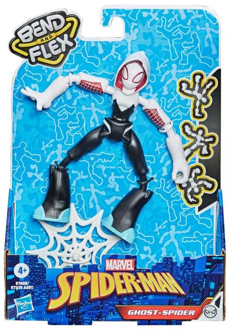 Marvel Spider-Man Bend & Flex Ghost-Spider Action Figure [2021]