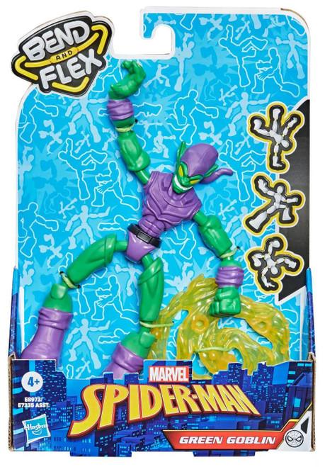 Marvel Spider-Man Bend & Flex Green Goblin Action Figure [2021]