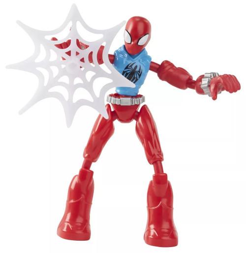 Marvel Spider-Man Bend & Flex Scarlet Spider Action Figure [2021]