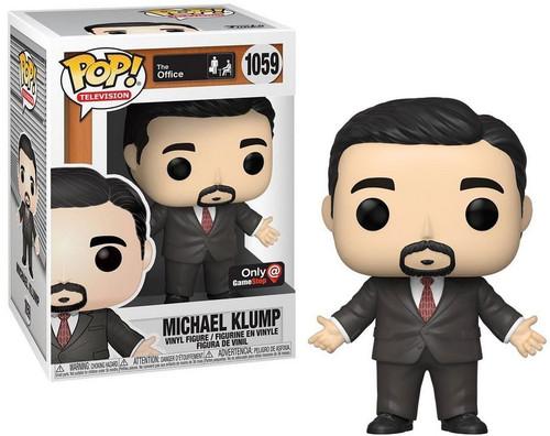 Funko The Office POP! TV Michael Klump Exclusive Vinyl Figure #1059