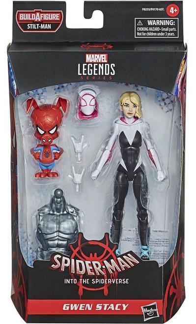 Spider-Man Into the Spider-Verse Marvel Legends Stilt-Man Series Gwen Stacy Action Figure