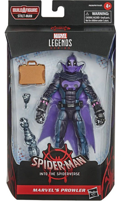 Spider-Man Into the Spider-Verse Marvel Legends Stilt-Man Series Prowler Action Figure