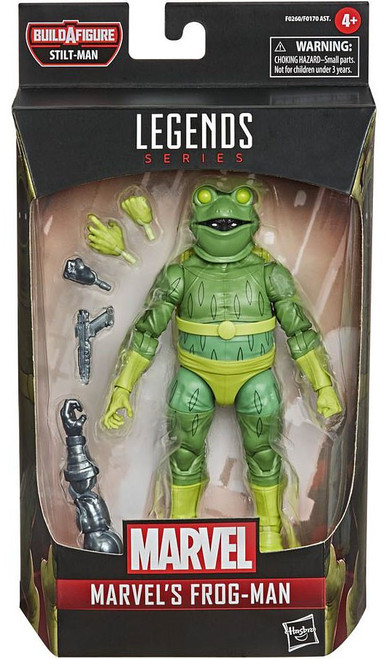 Spider-Man Marvel Legends Stilt-Man Series Frog-Man Action Figure