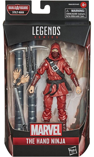 Spider-Man Marvel Legends Stilt-Man Series The Hand Ninja Action Figure