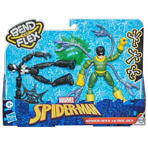 Marvel Bend & Flex Spider-Man & Doc Ock 6-Inch Figure 2-Pack