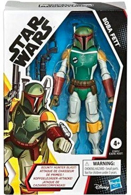 Star Wars The Rise of Skywalker Galaxy of Adventures Boba Fett Action Figure