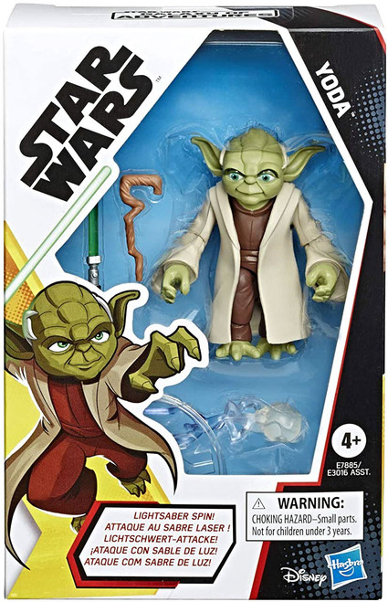Star Wars The Rise of Skywalker Galaxy of Adventures Yoda Action Figure (Pre-Order ships January)