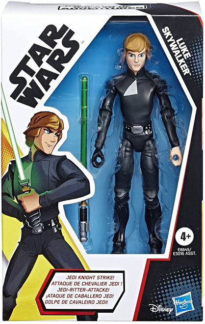 Star Wars The Rise of Skywalker Galaxy of Adventures Jedi Luke Action Figure [EMP Wrath] (Pre-Order ships January)