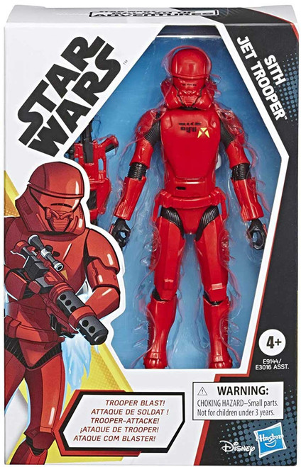 Star Wars The Rise of Skywalker Galaxy of Adventures Sith Jet Trooper Action Figure