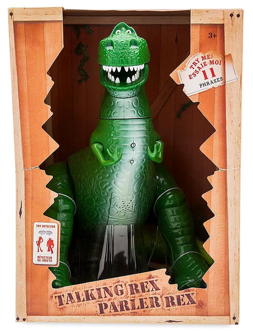 Disney Toy Story Rex Exclusive Talking Action Figure [Toy Detector, Damaged Package]
