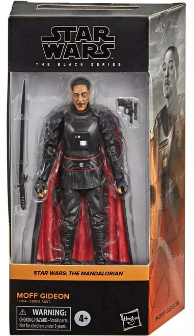 Star Wars The Mandalorian Black Series Wave 27 Moff Gideon Action Figure (Pre-Order ships January)