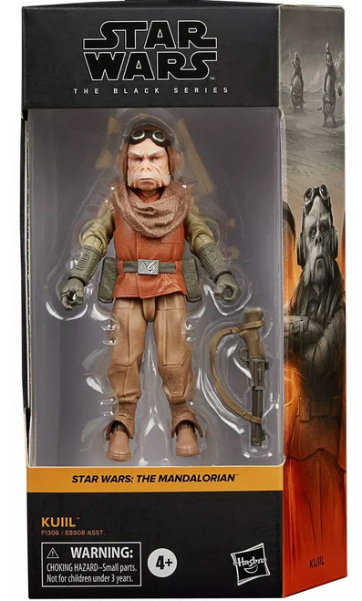 Star Wars The Mandalorian Black Series Wave 27 Kuill Action Figure (Pre-Order ships January)