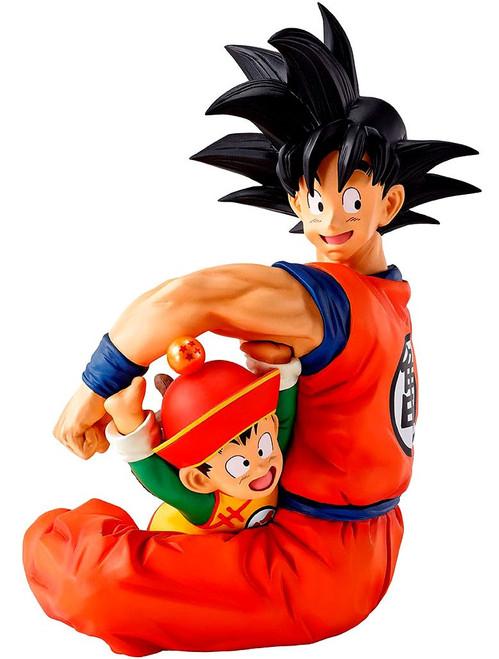 Dragon Ball z Ichiban Goku & Gohan 5.1-Inch Collectible PVC Figure (Pre-Order ships May)
