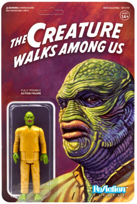 ReAction Creature from The Black Lagoon Universal Monsters The Creature Walks Among Us Action Figure (Pre-Order ships January)