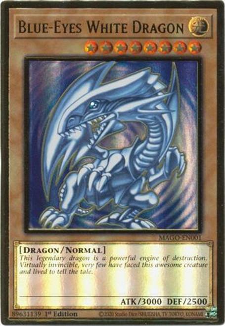 Alternate 1st Ed. MAGO-EN018 - Premium Gold Fantastical Dragon Phantazmay