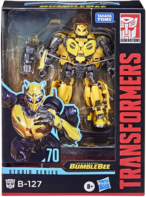 Transformers Generations Studio Series Bumblebee B-127 Deluxe Action Figure #70
