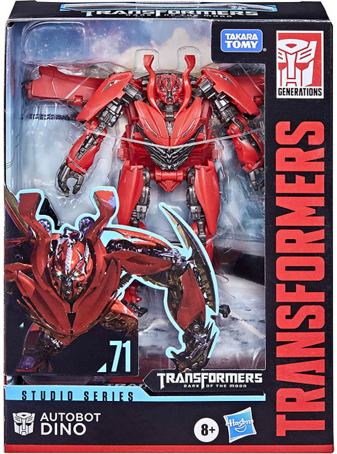 Transformers Generations Studio Series Autobot Dino Deluxe Action Figure #71 [Dark of the Moon]