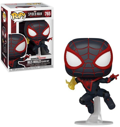 Funko Marvel Spider-Man POP! Games Miles Morales Vinyl Figure [Classic Suit, Regular Version] (Pre-Order ships March)
