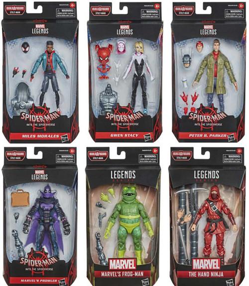 Spider-Man Marvel Legends Stilt-Man Series Set of 6 Action Figures