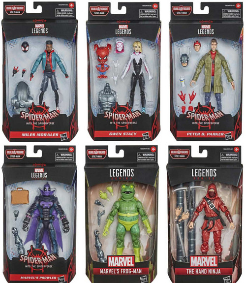 Spider-Man Marvel Legends Stilt-Man Series Set of 6 Action Figures (Pre-Order ships February)