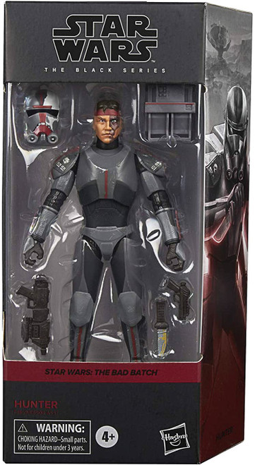 Star Wars The Clone Wars Black Series Wave 4 Bad Batch Clone Hunter Action Figure (Pre-Order ships May)