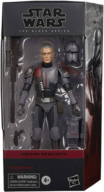 Star Wars The Clone Wars Black Series Wave 4 Bad Batch Clone Crosshair Action Figure (Pre-Order ships May)