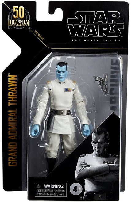 Star Wars Black Series Archive Wave 1 Grand Admiral Thrawn Action Figure