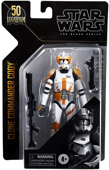 Star Wars Black Series Archive Wave 1 Clone Commander Cody Action Figure