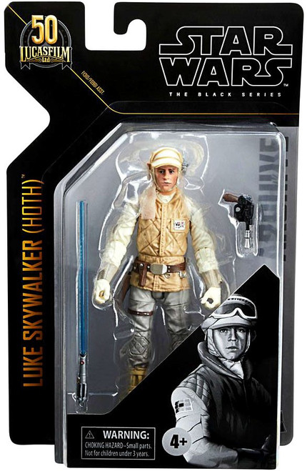Star Wars Black Series Archive Wave 1 Luke Skywalker Action Figure [Hoth]