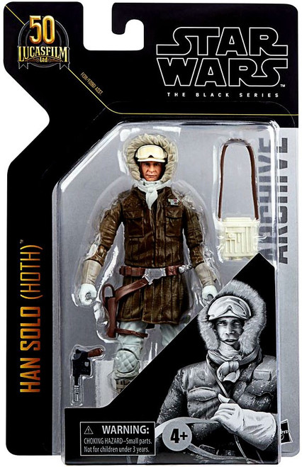 Star Wars Black Series Archive Wave 1 Han Solo Action Figure [Hoth] (Pre-Order ships January)