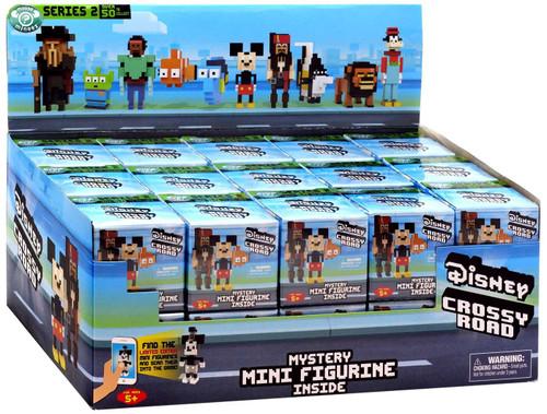 Disney Series 2 Crossy Road Mini Figure Mystery Box [30 Packs]