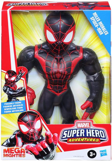 Marvel Playskool Heroes Super Hero Adventures Mega Mighties Miles Morales Action Figure (Pre-Order ships January)