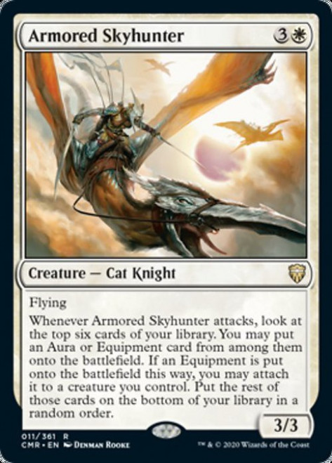 MtG Commander Legends Rare Armored Skyhunter #11