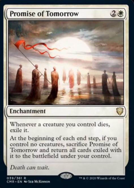 MtG Commander Legends Rare Promise of Tomorrow #39