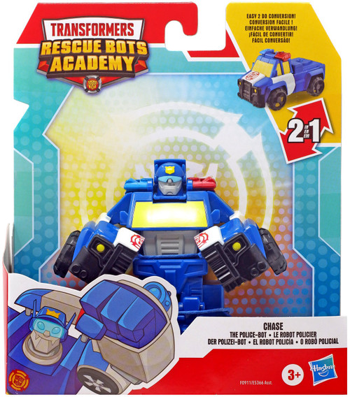 Transformers Playskool Heroes Rescue Bots Academy Chase Action Figure (Pre-Order ships August)