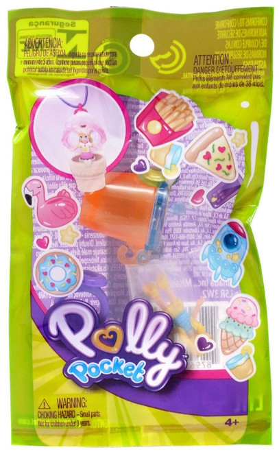 Polly Pocket Tiny Takeaways Series 2 Mystery Pack [1 Ring OR Necklace!]