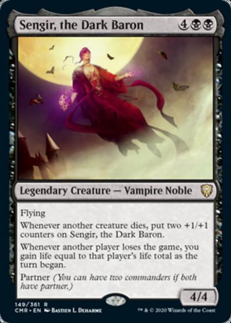 MtG Commander Legends Rare Sengir, the Dark Baron #149