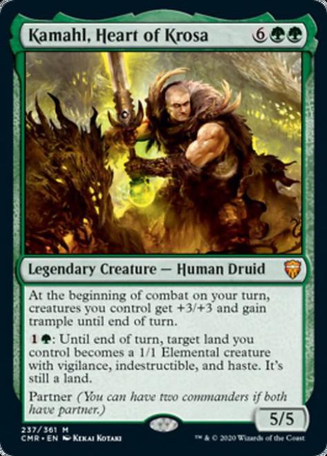 MtG Commander Legends Mythic Rare Kamahl, Heart of Krosa #237