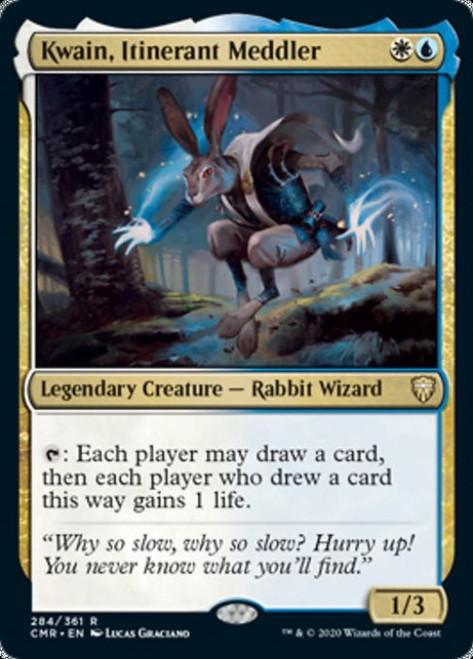 MtG Commander Legends Rare Kwain, Itinerant Meddler #284