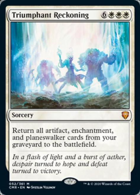MtG Commander Legends Mythic Rare Triumphant Reckoning #52