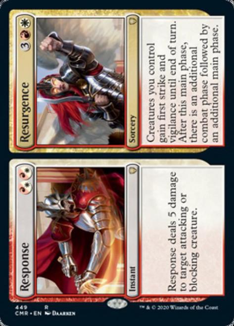 MtG Commander Legends Rare Response // Resurgence #449 [Commander Deck]