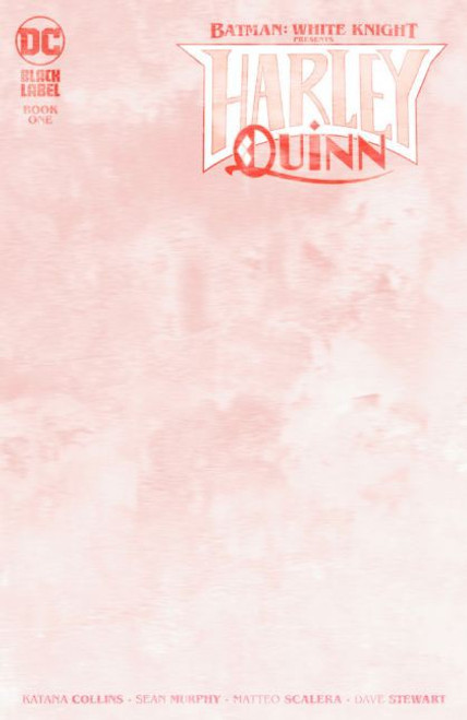 DC Comics Batman: White Knight Presents: Harley Quinn #1C Comic Book [Blank Variant]