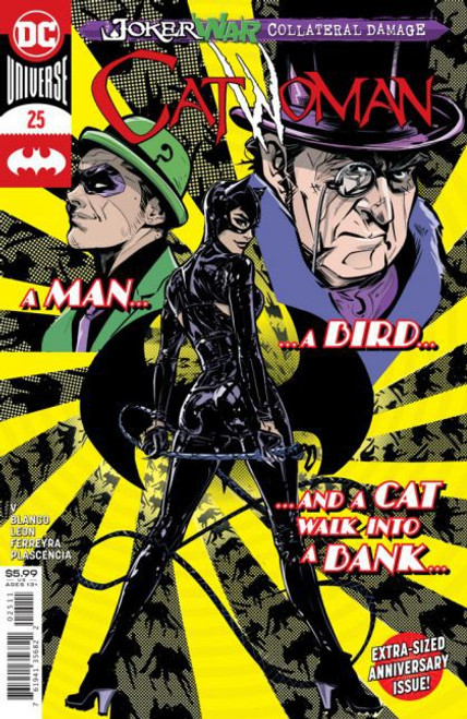 DC Comics Catwoman, Vol. 5 #25A Comic Book